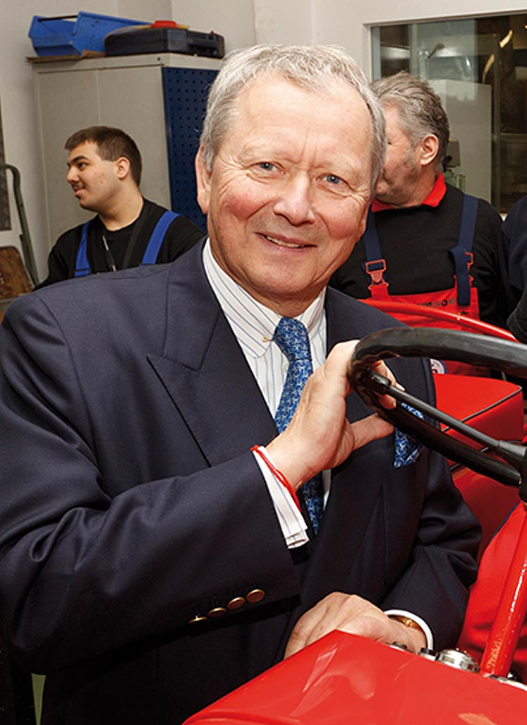 Schirmherr Dr. Wolfgang Porsche